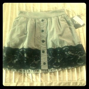 BLK DNM • Career Collections Skirt    *NWT*